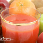 How many 'serves' of fruit and vegetables are in a fresh juice?